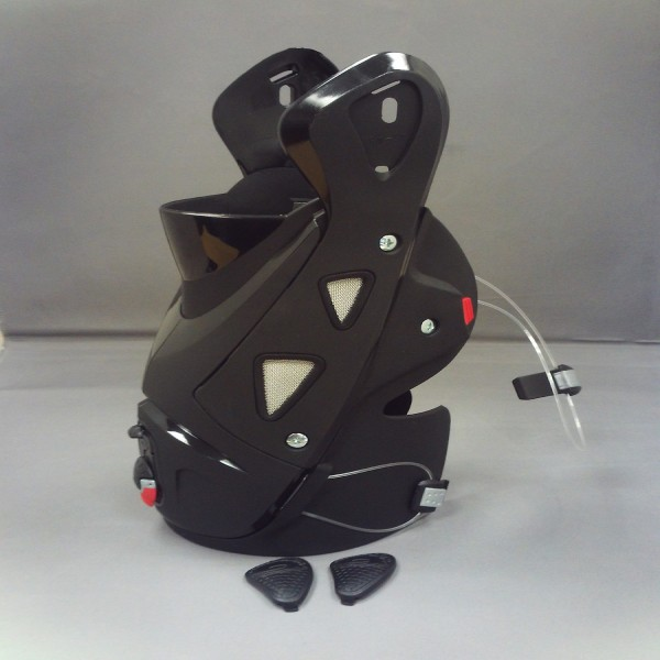 Sidi Vortice Calf Rear Upper Cover-Black Pair