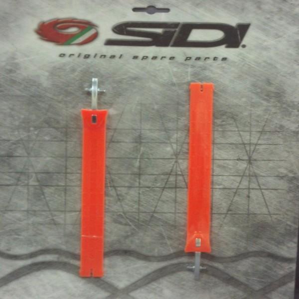 Sidi Mx Strap For Pop Buckle-Extra Long Orange Fluo