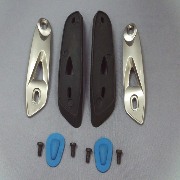 Spada Curve Evo Toe Sliders Blue