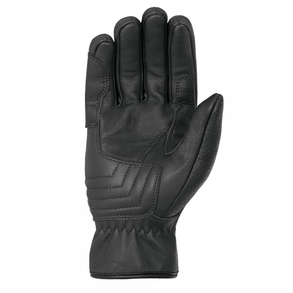 Oxford Holbeach Short Leather Gloves Black