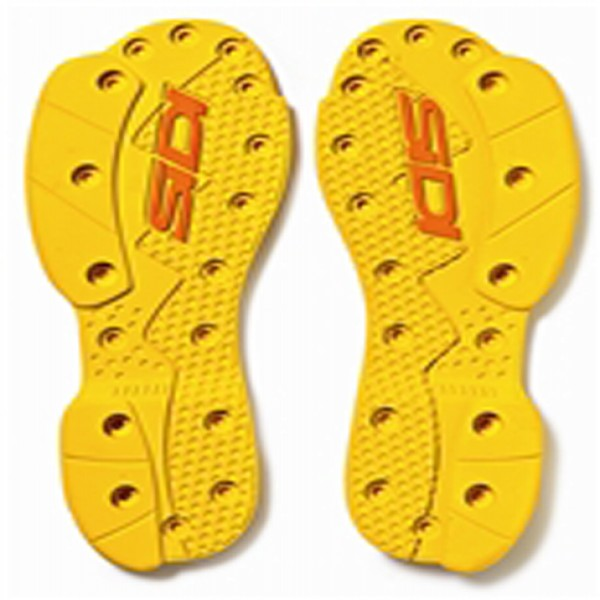 Sidi Sms Supermoto Soles Yellow