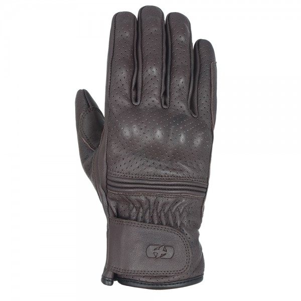 Oxford Holbeach Short Leather Gloves Brown