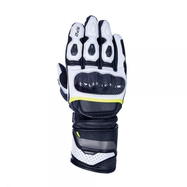 Oxford RP-2 2.0 Sports Gloves Stealth Black White & Fluo