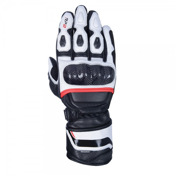 Oxford RP-2 2.0 Sports Gloves Stealth Black White & Red