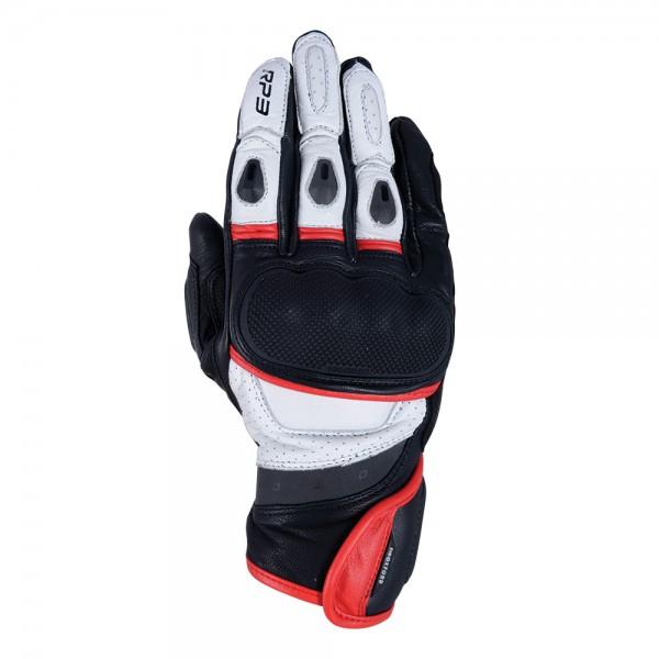 Oxford RP-3 2.0 Short Sports Gloves Black White & Red