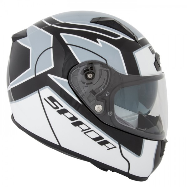 Spada Helmet Arc Puzzle White & Black & Grey