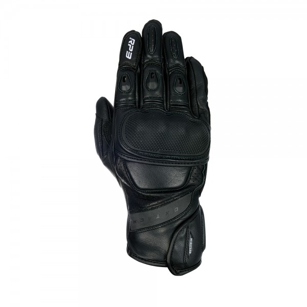 Oxford RP-3 2.0 Leather Gloves Stealth Black