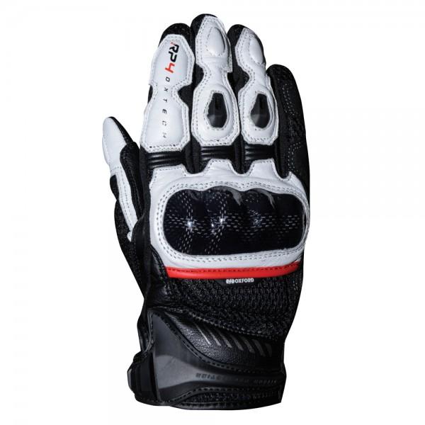Oxford RP-4 2.0 Leather Gloves Black/White