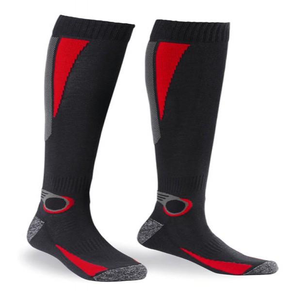 Spidi It Thermo Socks Black & Red [Pk-12} 2Xs 6Xm 4Xl