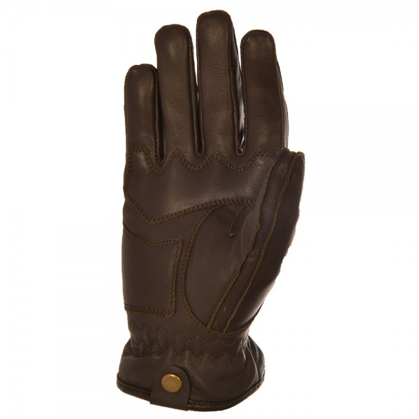Oxford Holton Leather Gloves Brown