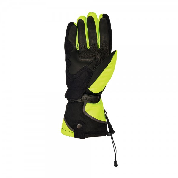 Oxford Montreal 1.0 Gloves Black & Fluo