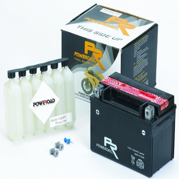 Poweroad Battery Yt7B-Bs [Yt7B-4] [Ys12-7B-4]