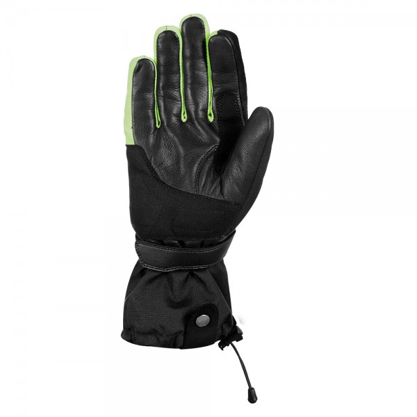 Oxford Convoy 2.0 Textile Leather Gloves Black/Fluo