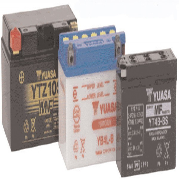 Yuasa Batteries Yb9-B (Cp) With Acid