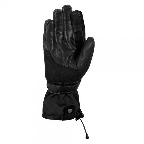 Oxford Convoy 2.0 Textile Leather Gloves Stealth Black