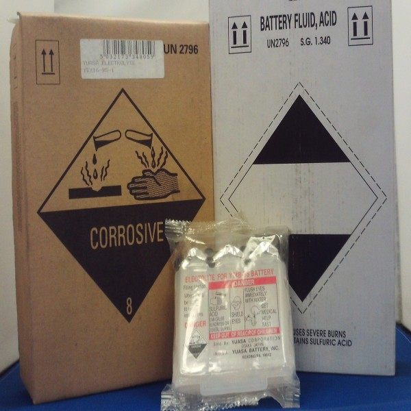 Yuasa Electrolyte Ytx20Ch-Bs Acid Pack