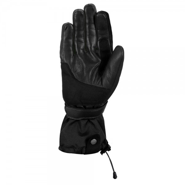 Oxford Ladies Convoy 2.0 Textile Leather Gloves Stealth Black