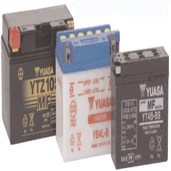 Yuasa Batteries Yb12A-B (Cp) With Acid