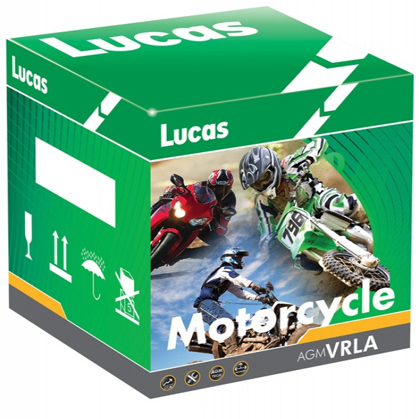 Lucas Batteries Yt12B-4