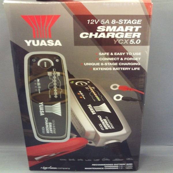 Yuasa Battery Charger Ycx5.0 12V 5A 8-Stage