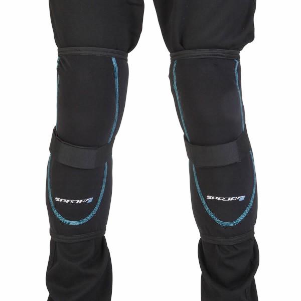 Spada Knee Armour Black [Pair]