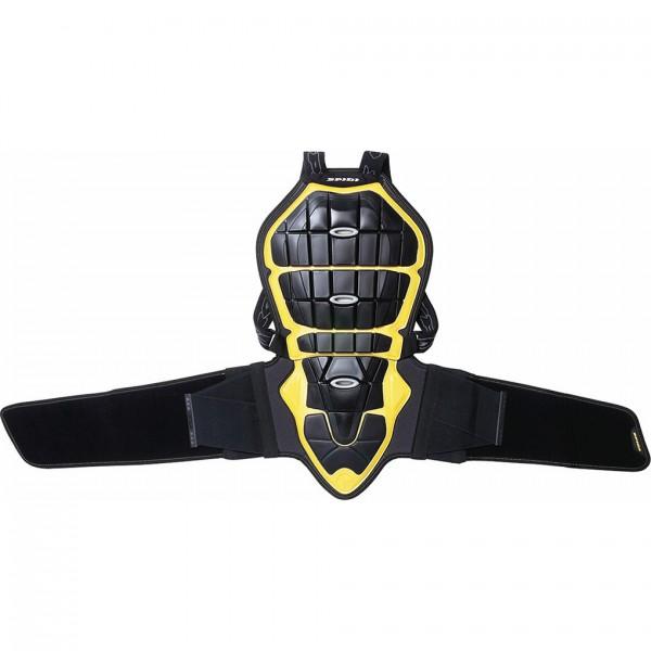 Spidi Gb Safety Lab Back Warrior 160/170 Black & Yellow
