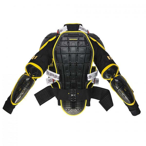 Spidi Gb Safety Lab Warrior Jacket Black & Yellow