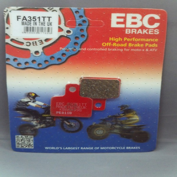 EBC Brake Pads Fa351Tt