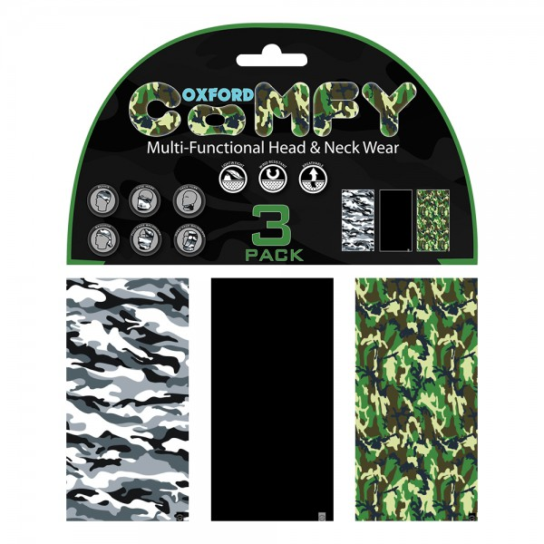 Oxford Comfy Camo 3 Pack