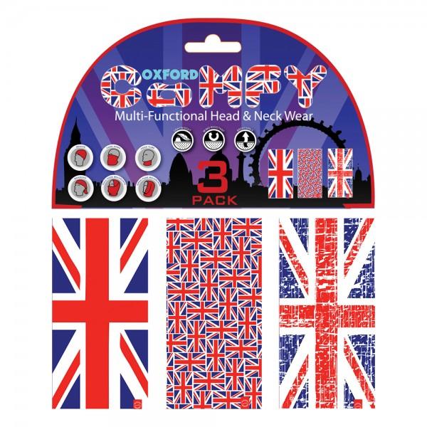 Oxford Comfy Union Jack 3-Pack