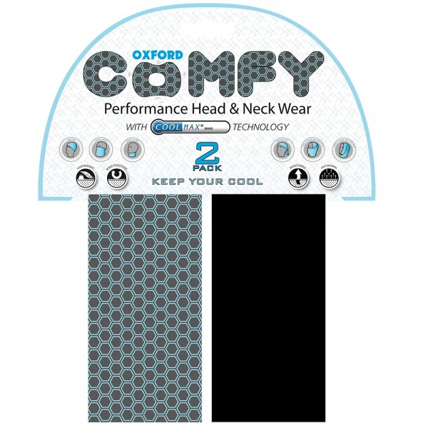 Oxford Coolmax Comfy Honeycomb - 2 Pack