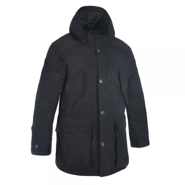 Oxford Parka Jacket Black