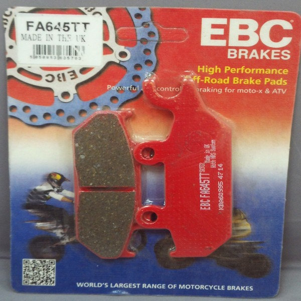 EBC Brake Pads Fa645Tt