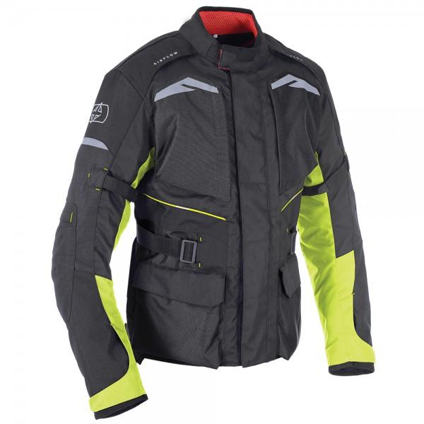 Oxford Quebec 1.0 Jacket Black & Fluo