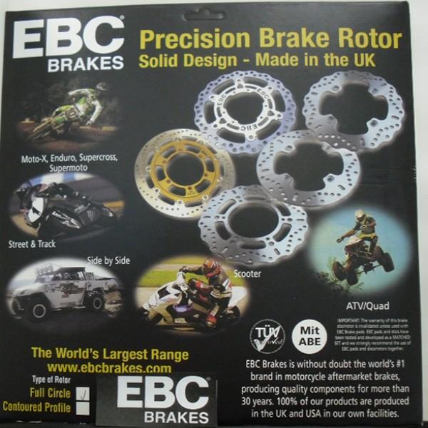 EBC Brakes Md2101X Universal Disc 6 Button