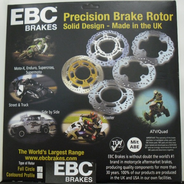 EBC Brakes Vr1152Blk