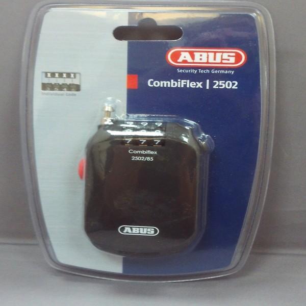 Abus Combiflex 2502/85 Coil Lock Black 85Cm/2Mm