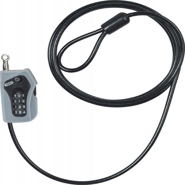 Abus Combioop 205 Coil Lock Black 5Mm/200Cm