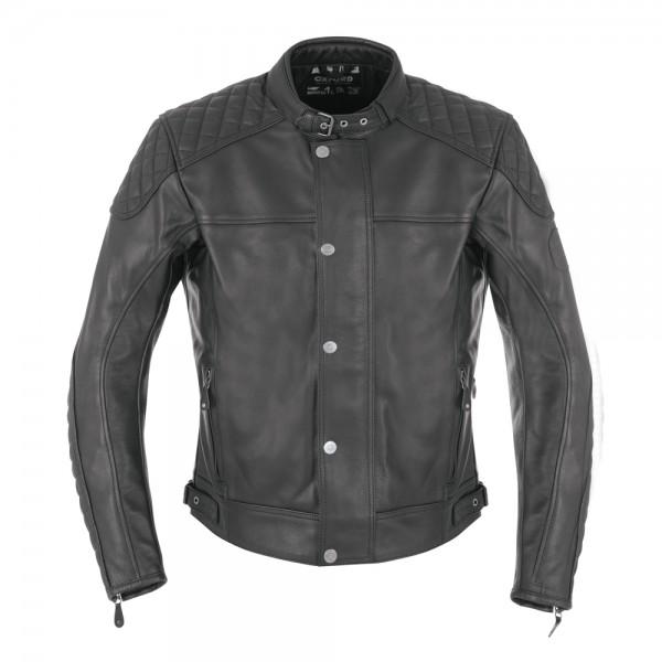 Oxford Hampton Leather Jacket Black