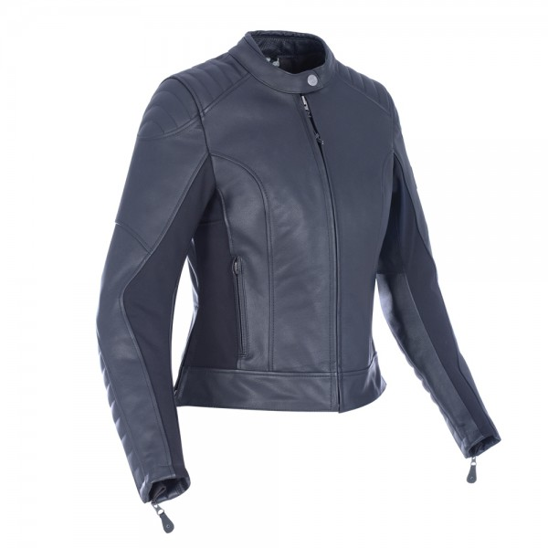 Oxford Beckley Women's Leather Jacket Black