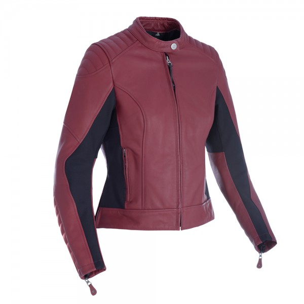 Oxford Beckley Women's Leather Jacket Russet