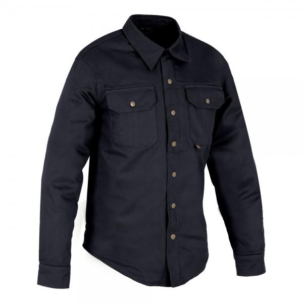 Oxford Kickback shirt Black
