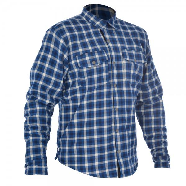 Oxford Kickback shirt Blue & White