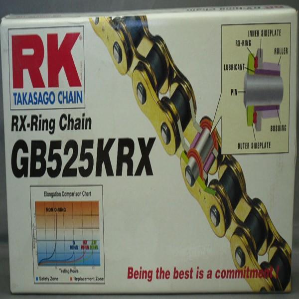 Rk Gb525Krx X 124 Chain Gold