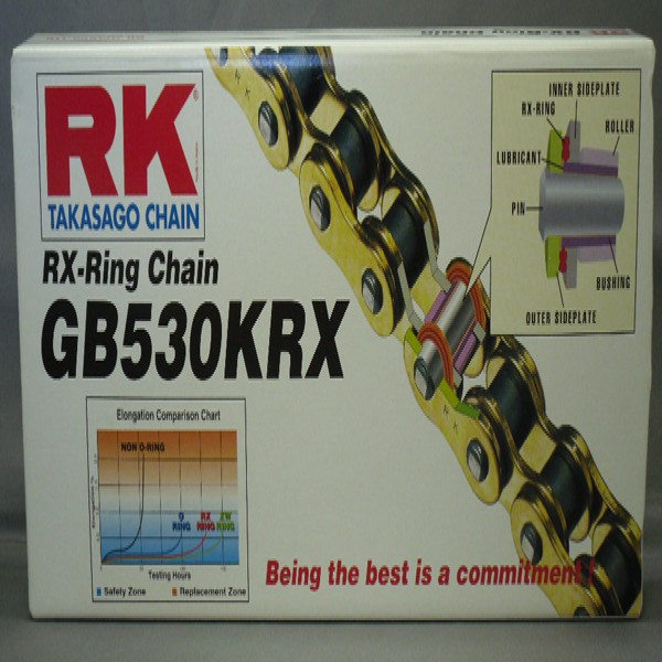 Rk Gb530Krx X 114 Chain Gold