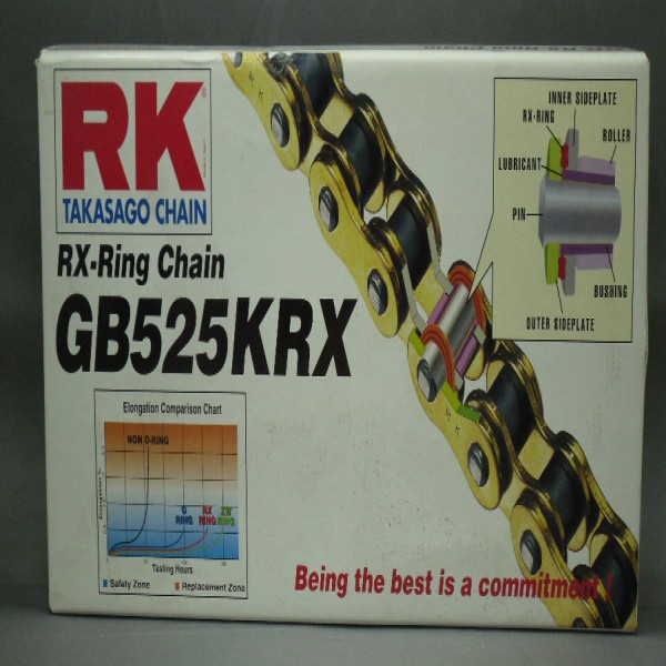 Rk 525Krx X 104 Chain