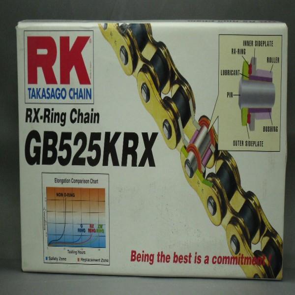 Rk 525Krx X 124 Chain