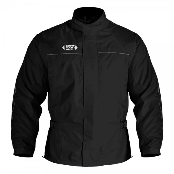 Oxford Rainseal Over Jacket Black
