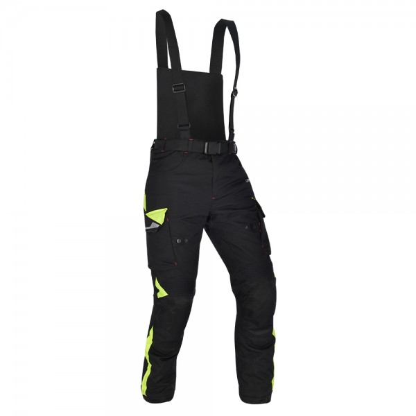 Oxford Montreal 3.0 Pants Regular Leg Black & Fluo