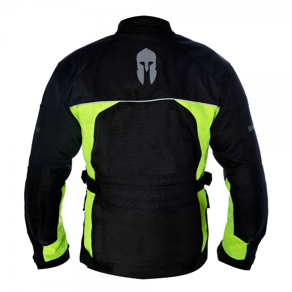 Spartan Jacket Black & Fluo